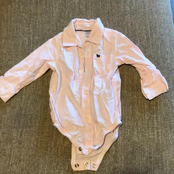b43c25957 Carter's Shirts & Tops   Carters Button Down Onesie   Poshmark